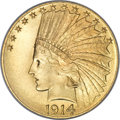 Indian Eagles, 1914 $10 MS66 PCGS....
