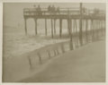 Photography :20th Century , KARL STRUSS (American, 1886-1981). Arviene, Long Island, 1912. Silver gelatin, 1912. Paper: 3-3/4 x 4-3/4 inches (9.5 x ...