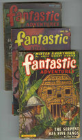 Pulps:Science Fiction, Fantastic Adventures Group (Ziff-Davis, 1942-48) Condition: AverageVG.... (Total: 4)