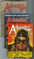 Pulps:Science Fiction, Fantastic Adventures Group (Ziff-Davis, 1928-52) Condition: AverageGD/VG.... (Total: 8)