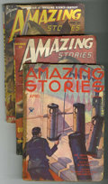 Pulps:Science Fiction, Amazing Stories Group (Ziff-Davis, 1936-50) Condition: AverageGD/VG.... (Total: 18)