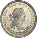 Patterns, 1870 10C Standard Silver Ten Cents, Judd-843, Pollock-942, Low R.6,PR66 NGC....