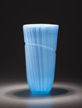 Art Glass:Other , LINO TAGLIAPIETRA (Italian, b. 1934). An Art Glass Vase, 1999.Engraved on the base: Lino Tagliapietra '99. 16-7/8 inche...