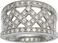 Estate Jewelry:Rings, Diamond, White Gold Ring, Chimento. ...