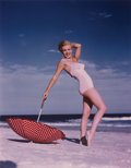 Photographs, ANDRE DE DIENES (American, 1913-1985). Group of Four Limited Edition Photographs of Marilyn Monroe on Tobey Beach, New Yor... (Total: 4 Items)