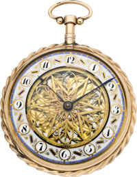 Swiss Quarter Hour Repeater Skeleton Dial, circa 1790