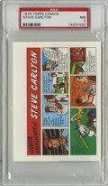 Baseball Cards:Singles (1970-Now), 1973 Topps Comics Test Issue Steve Carlton PSA NM 7....