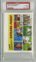 Baseball Cards:Singles (1970-Now), 1973 Topps Comics Test Issue Gaylord Perry PSA NM+ 7.5....