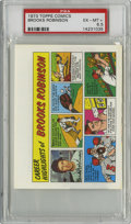 Baseball Cards:Singles (1970-Now), 1973 Topps Comics Test Issue Brooks Robinson PSA EX-MT+ 6.5....