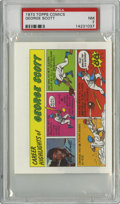 Baseball Cards:Singles (1970-Now), 1973 Topps Comics Test Issue George Scott PSA NM 7....