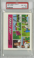 Baseball Cards:Singles (1970-Now), 1973 Topps Comics Test Issue Joe Torre PSA NM-MT+ 8.5....