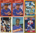 Autographs:Sports Cards, Modern Stars Signed Trading Cards Group Lot of 6....