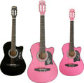 Music Memorabilia:Autographs and Signed Items, Assorted Singer-Songwriter Autographed Guitars.... (Total: 3 Items)
