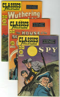 Golden Age (1938-1955):Classics Illustrated, Classics Illustrated Group (Gilberton, 1943-50) Condition: AverageVG.... (Total: 22 Comic Books)