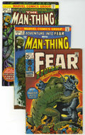 Bronze Age (1970-1979):Horror, Fear/Man-Thing Group (Marvel, 1971-75) Condition: Average FN/VF....(Total: 27 Comic Books)