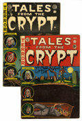 Golden Age (1938-1955):Horror, Tales From the Crypt #28 and 46 Group (EC, 1952-55) Condition:Average GD/VG.... (Total: 2 Comic Books)