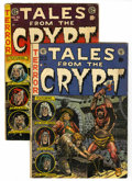 Golden Age (1938-1955):Horror, Tales From the Crypt #31 and 45 Group (EC, 1952-54) Condition:Average VG-.... (Total: 2 Comic Books)