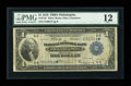 Fr. 716 $1 1918 Federal Reserve Bank Star Note PMG Fine 12