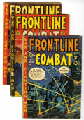 Golden Age (1938-1955):War, Frontline Combat Group (EC, 1952-55) Condition: Average GD....(Total: 10 Comic Books)