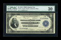 Fr. 774 $2 1918 Federal Reserve Bank Note PMG Very Fine 30