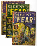 Golden Age (1938-1955):Horror, Haunt of Fear Group (EC, 1953-54) Condition: Average VG-....(Total: 5 Comic Books)