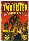 Golden Age (1938-1955):War, Two-Fisted Annual #1 (EC, 1952) Condition: GD/VG....