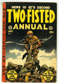 Golden Age (1938-1955):War, Two-Fisted Annual #2 (EC, 1953) Condition: VG....