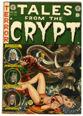 Golden Age (1938-1955):Science Fiction, Tales From the Crypt #32 (EC, 1952) Condition: VG+....
