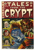 Golden Age (1938-1955):Horror, Tales From the Crypt #35 (EC, 1953) Condition: VG+....