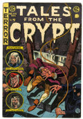 Golden Age (1938-1955):Horror, Tales From the Crypt #44 (EC, 1954) Condition: VG....