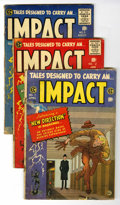 Golden Age (1938-1955):Horror, Impact #1-5 Group (EC, 1955) Condition: Average GD.... (Total: 5Comic Books)