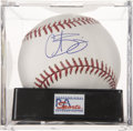 Autographs:Baseballs, Curt Schilling Single Signed Baseball, PSA Gem Mint 10....