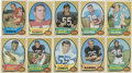 Football Cards:Sets, 1970 Topps Football Collection (120 Different)....
