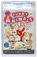 Golden Age (1938-1955):Funny Animal, Fawcett's Funny Animals #29 Crowley Copy/File Copy (Fawcett, 1945)CGC NM 9.4 Cream to off-white pages....