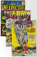 Silver Age (1956-1969):Horror, Tales of the Unexpected Group (DC, 1958-61) Condition: ApparentVG.... (Total: 9 Comic Books)