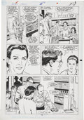 Original Comic Art:Panel Pages, Curt Swan and Dennis Janke Action Comics #658, page 3Original Art (DC, 1990)....