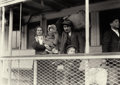 Photography :20th Century , LEWIS WICKES HINE (American, 1874-1940). On the Ferry Boat Leaving Ellis Island, Italian Family, 1905. Silver gelatin, 1...