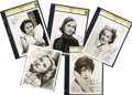 Movie/TV Memorabilia:Autographs and Signed Items, Maureen O'Sullivan and Others Signed Photos.... (Total: 5 Items)