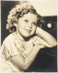 Movie/TV Memorabilia:Autographs and Signed Items, Shirley Temple Signed Photo....