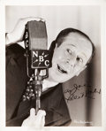 Movie/TV Memorabilia:Autographs and Signed Items, Bert Lahr Signed Photo....