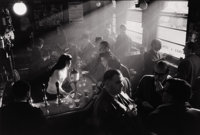 WILLY RONIS (French, b. 1910) Pub in Soho, London, 1955 Silver gelatin Paper: 11 x 14 inches (27