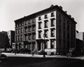 Photography :20th Century , BERENICE ABBOTT (American, 1898-1991). Fifth Avenue Houses, Numbers 4, 6, and 8, New York, 1936. Silver gelatin. 18-1/4 ...