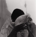 Photography :20th Century , DEBBIE FLEMING CAFFERY (American,b. 1948). Man with Goose, 1995. Silver gelatin. 19-1/4 x 18-3/4 inches (48.9 x 47.6 cm)...