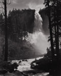 Photography :20th Century , ANSEL EASTON ADAMS (American, 1902-1984). Untitled (Waterfall), 1930s. Silver gelatin, 1930s. 9-1/2 x 7-3/8 inches (24.1...