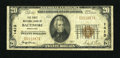 National Bank Notes:Maryland, Baltimore, MD - $20 1929 Ty. 1 The First NB Ch. # 1413. ...