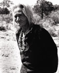 Photography :20th Century , LAURA GILPIN (American, 1891-1979). Old Lady Grey Salt, 1953. Silver gelatin, 1970. 10 x 8 inches (25.4 x 20.3 cm). Rect...