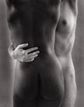 Photography :20th Century , RUTH BERNHARD (American, 1905-2006). Two Forms, 1963. Silver gelatin, 1976. 9-1/2 x 7-1/2 inches (24.1 x 19.1 cm). Recto...