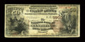 National Bank Notes:Kentucky, Cynthiana, KY - $50 1882 Brown Back Fr. 513 The NB of Cynthiana Ch.# 1900. ...