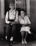 Photography :20th Century , SHELBY LEE ADAMS (American, b. 1950). Kelly and Armelda (American Gothic), 1980. Silver gelatin, 1983. Paper: 14 x 11 in...