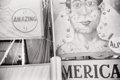 Photography :20th Century , CHARLES HARBUTT (American, b. 1935). The Circus Poster, 1978. Silver gelatin. Paper: 11 x 14 inches (27.9 x 35.6 cm). Im...